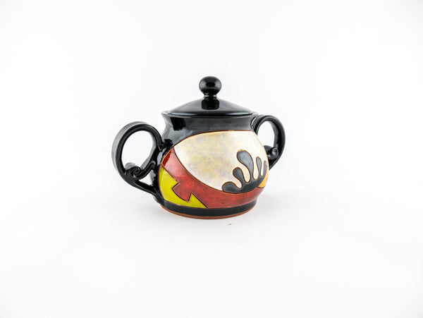 "Pottery Sugar Bowl 4"" Ethno - Handmade Ceramics and pottery 