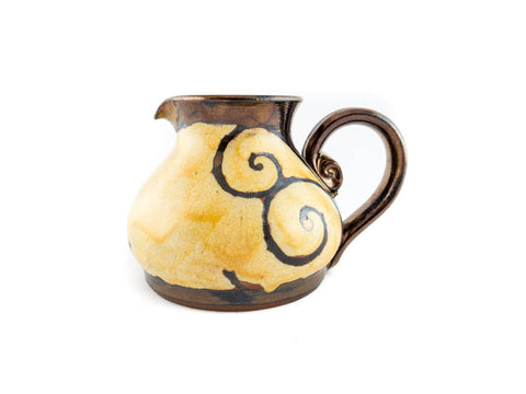 Handmade Pottery Creamer 8.5oz - Handmade Ceramics and pottery | Teapots, Coffee and Tea Mugs, Vases, Bowls, Plates, Ashtrays | Handmade stoneware - 1