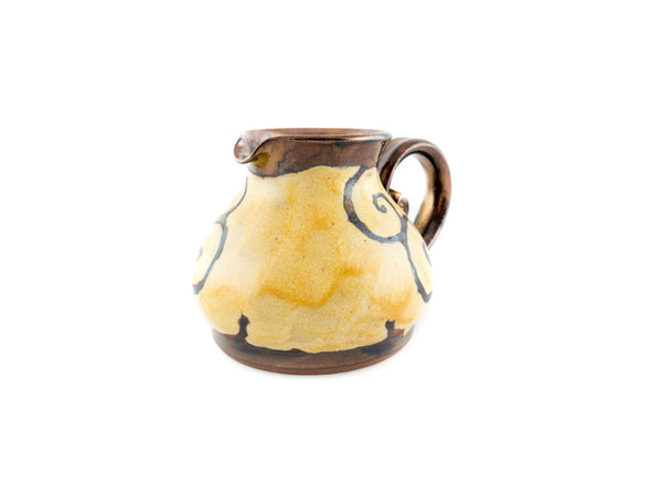 Handmade Pottery Creamer 8.5oz - Handmade Ceramics and pottery | Teapots, Coffee and Tea Mugs, Vases, Bowls, Plates, Ashtrays | Handmade stoneware - 2
