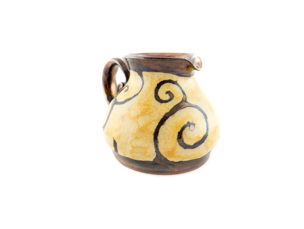 Handmade Pottery Creamer 8.5oz - Handmade Ceramics and pottery | Teapots, Coffee and Tea Mugs, Vases, Bowls, Plates, Ashtrays | Handmade stoneware - 3
