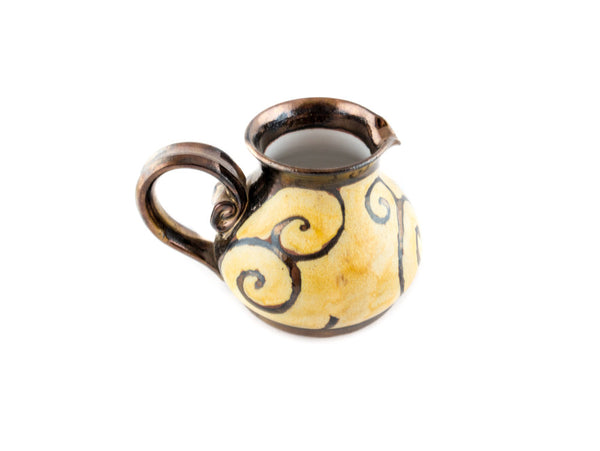 Handmade Pottery Creamer 8.5oz - Handmade Ceramics and pottery | Teapots, Coffee and Tea Mugs, Vases, Bowls, Plates, Ashtrays | Handmade stoneware - 5