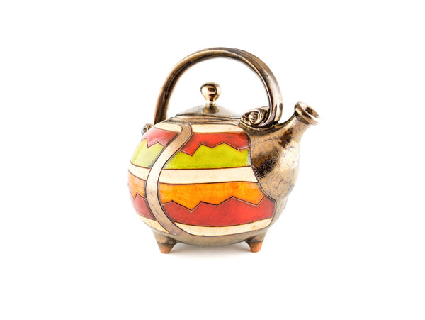 Handmade Ceramic Teapot 37oz Cherga - Handmade Ceramics and pottery | Teapots, Coffee and Tea Mugs, Vases, Bowls, Plates, Ashtrays | Handmade stoneware - 4