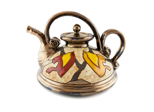 Handmade Ceramic Teapot 23oz Classic Style Autumn - Handmade Ceramics and pottery | Teapots, Coffee and Tea Mugs, Vases, Bowls, Plates, Ashtrays | Handmade stoneware - 2