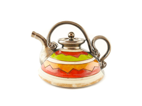 Ceramic Teapot 23oz Cherga - Handmade Ceramics and pottery | Teapots, Coffee and Tea Mugs, Vases, Bowls, Plates, Ashtrays | Handmade stoneware - 1
