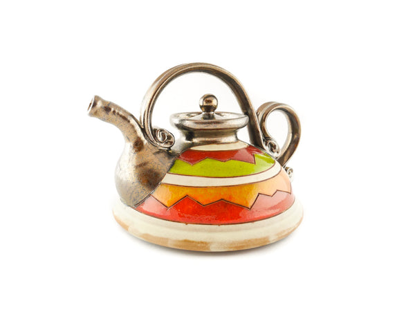 Ceramic Teapot 23oz Cherga - Handmade Ceramics and pottery | Teapots, Coffee and Tea Mugs, Vases, Bowls, Plates, Ashtrays | Handmade stoneware - 3