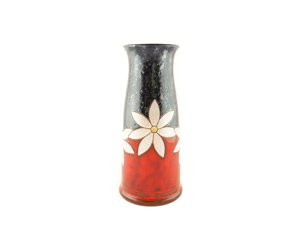"Handmade Pottery Vase 9"" Daisy - Handmade Ceramics and pottery 