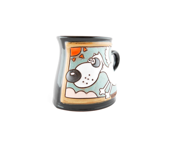 Handmade Pottery Animal Mug 12oz Flying Dog Mug - Handmade Ceramics and pottery | Teapots, Coffee and Tea Mugs, Vases, Bowls, Plates, Ashtrays | Handmade stoneware - 2