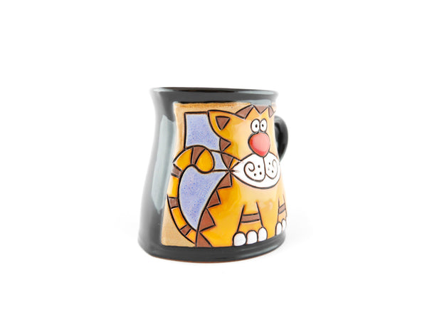 Handmade Pottery Animal Mug 12oz Tiger Mug - Handmade Ceramics and pottery | Teapots, Coffee and Tea Mugs, Vases, Bowls, Plates, Ashtrays | Handmade stoneware - 2