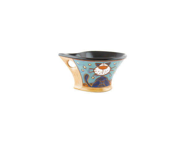Handmade Pottery Espresso Cup 3.5oz Lazy Cats - Handmade Ceramics and pottery | Teapots, Coffee and Tea Mugs, Vases, Bowls, Plates, Ashtrays | Handmade stoneware - 2