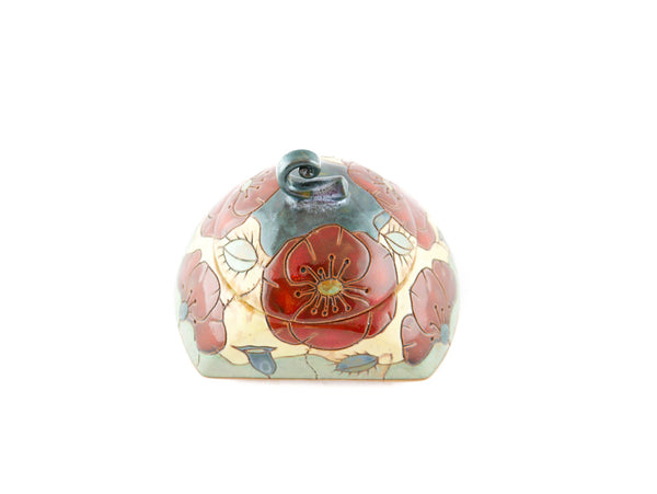 Poppy Sugar Bowl - Handmade Ceramics and pottery | Teapots, Coffee and Tea Mugs, Vases, Bowls, Plates, Ashtrays | Handmade stoneware - 2