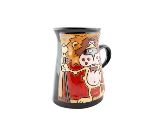 Handmade Pottery Animal Mug 11oz Lion King Mug - Handmade Ceramics and pottery | Teapots, Coffee and Tea Mugs, Vases, Bowls, Plates, Ashtrays | Handmade stoneware - 2