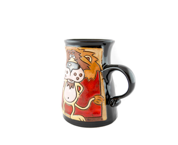 Handmade Pottery Animal Mug 11oz Lion King Mug - Handmade Ceramics and pottery | Teapots, Coffee and Tea Mugs, Vases, Bowls, Plates, Ashtrays | Handmade stoneware - 3
