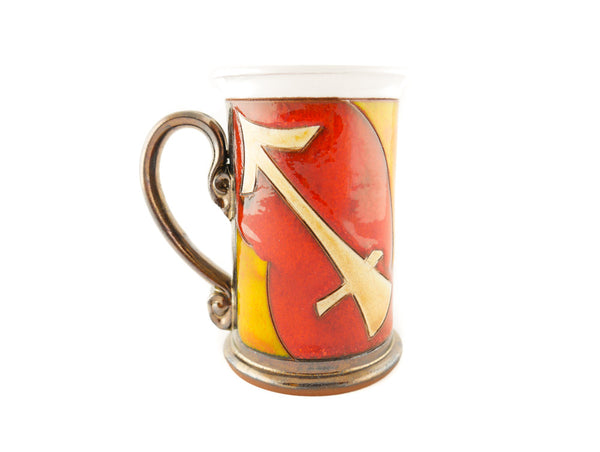 Sagittarius Zodiac Mug - Handmade Ceramics and pottery | Teapots, Coffee and Tea Mugs, Vases, Bowls, Plates, Ashtrays | Handmade stoneware - 2