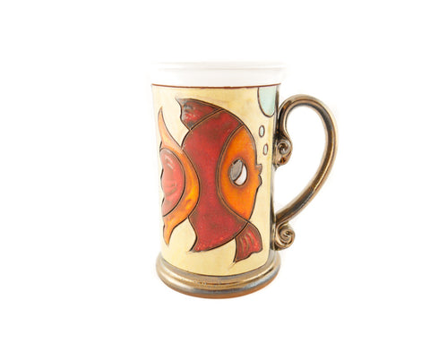 Pisces Zodiac Mug - Handmade Ceramics and pottery | Teapots, Coffee and Tea Mugs, Vases, Bowls, Plates, Ashtrays | Handmade stoneware - 1