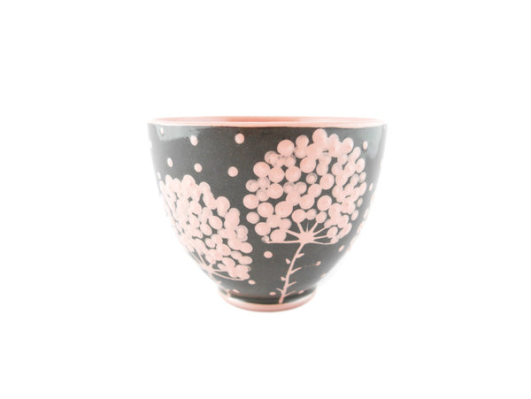 Handmade Pottery Cup 13oz with pink tree and Yin and Yang - Handmade Ceramics and pottery | Teapots, Coffee and Tea Mugs, Vases, Bowls, Plates, Ashtrays | Handmade stoneware - 3