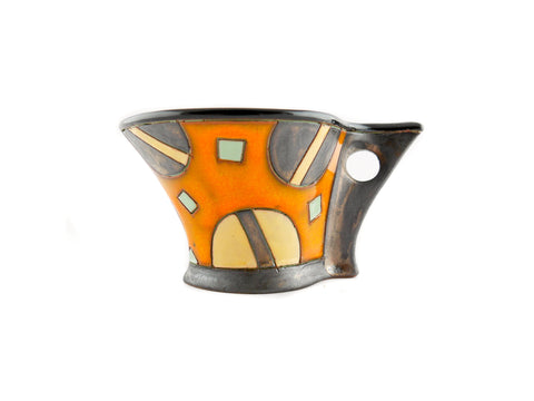 Espresso Coffee Cup 3.5oz with Planets