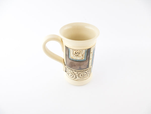 Handmade Pottery Mug 5oz Nature Mug 2 - Handmade Ceramics and pottery | Teapots, Coffee and Tea Mugs, Vases, Bowls, Plates, Ashtrays | Handmade stoneware - 2