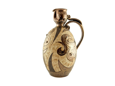 Wine Pitcher 85oz Antique - Handmade Ceramics and pottery | Teapots, Coffee and Tea Mugs, Vases, Bowls, Plates, Ashtrays | Handmade stoneware