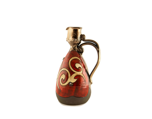 Wine Pitcher Small 24oz Orient - Handmade Ceramics and pottery | Teapots, Coffee and Tea Mugs, Vases, Bowls, Plates, Ashtrays | Handmade stoneware