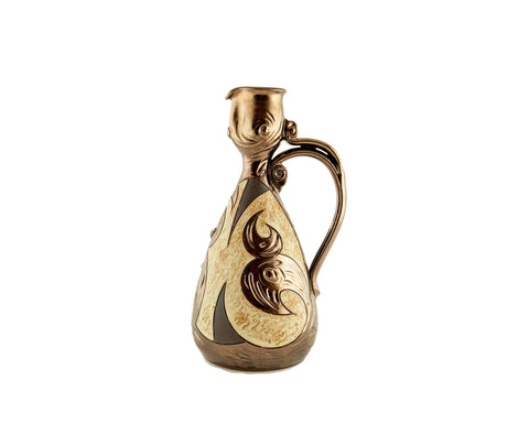 Wine Pitcher Small 24oz Antique - Handmade Ceramics and pottery | Teapots, Coffee and Tea Mugs, Vases, Bowls, Plates, Ashtrays | Handmade stoneware