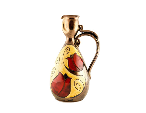 Wine Pitcher Small 24oz Tulip - Handmade Ceramics and pottery | Teapots, Coffee and Tea Mugs, Vases, Bowls, Plates, Ashtrays | Handmade stoneware