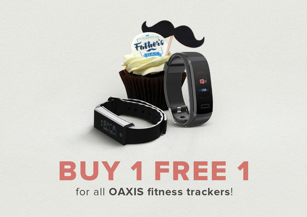 OAXIS Buy 1 Free 1 Fitness trackers