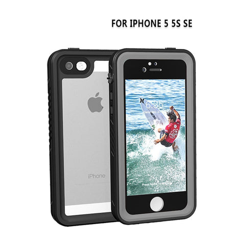 drop proof and waterproof phone case