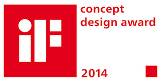 iF concept design award 2014 logo