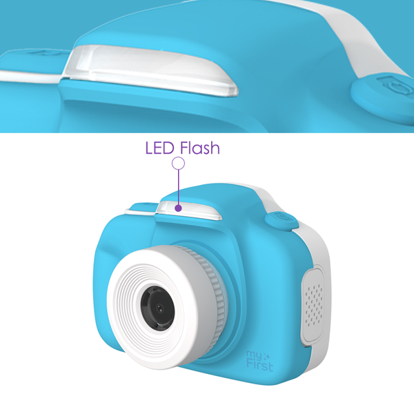 Camera for kids with selfie lens (myFirst Camera 3) 16MP Mini Camera  flash
