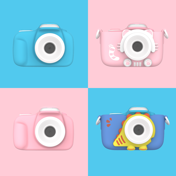 Camera for kids with selfie lens (myFirst Camera 3) 16MP Mini Camera