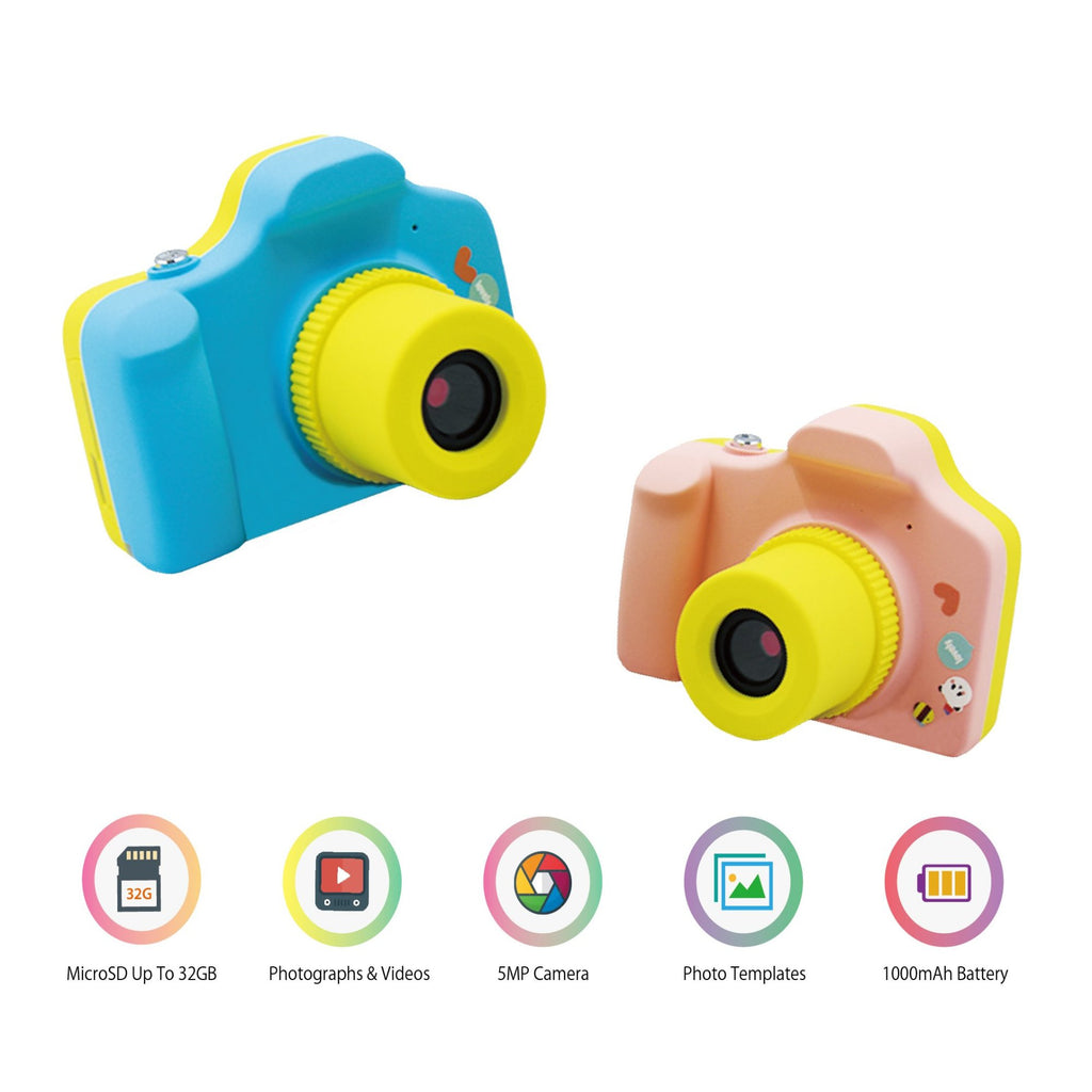 myFirst Camera - 5 Mega Pixel Mini Size Camera For Kids With SD Card Support