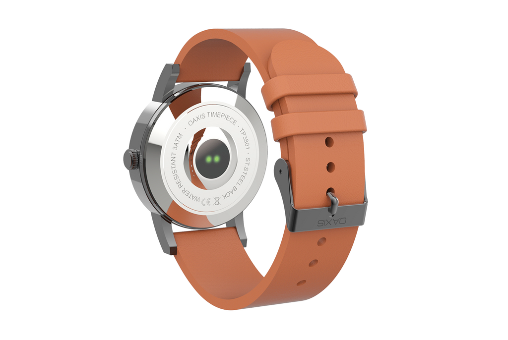 Timepiece - Minimalist Analog Watch with Heart Rate Monitor
