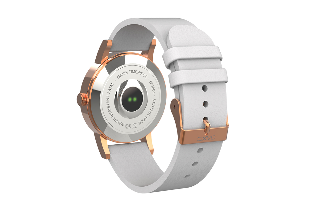 Timepiece - Minimalist Analog Watch with Heart Rate Monitor - Oaxis - The Official Maker of InkCase and the brand owner of myFirst - A brand new collection for kids