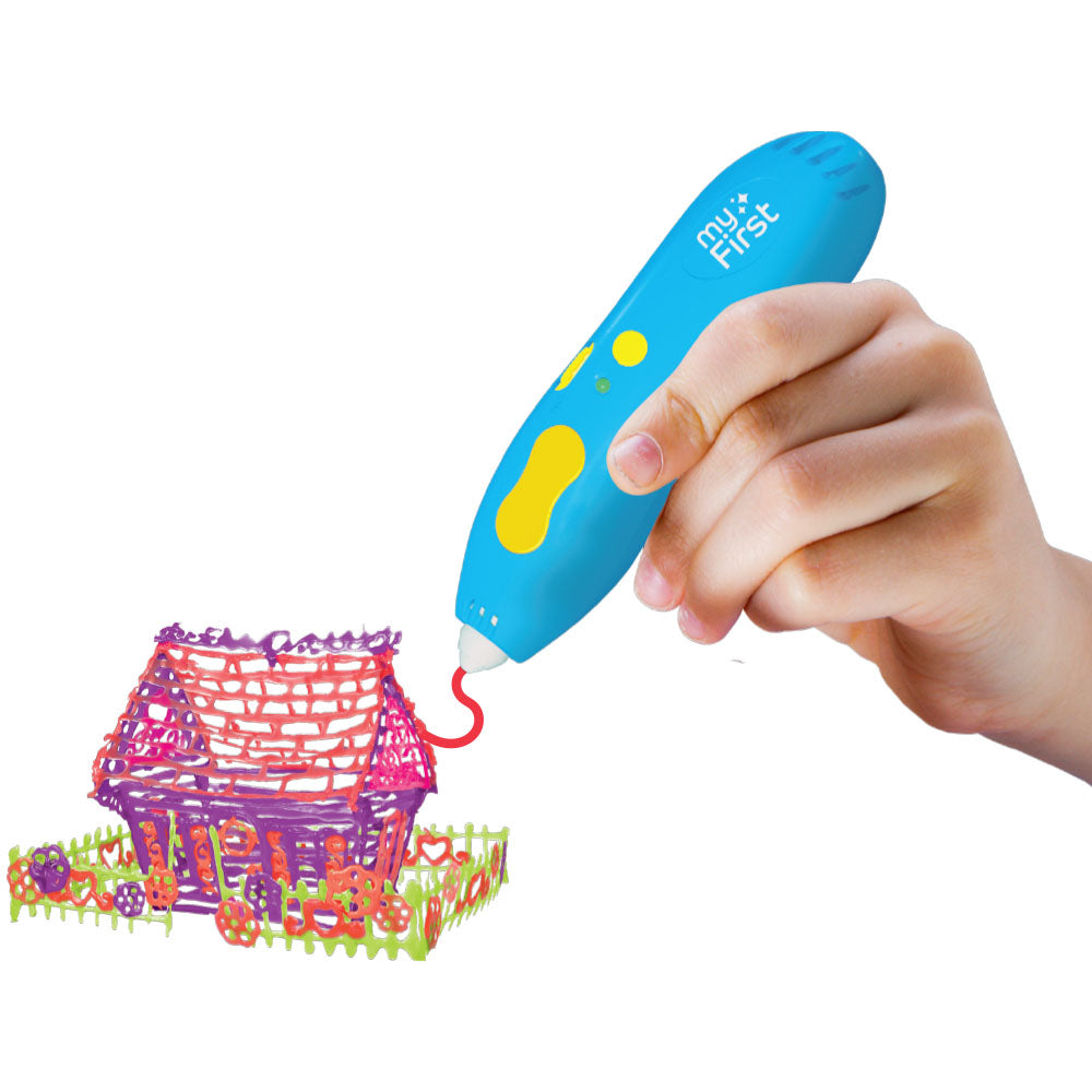 myFirst 3dPen - Wireless 3D Molder Starter Kit For Kids - Oaxis - The Official Maker of InkCase and the brand owner of myFirst - A brand new collection for kids