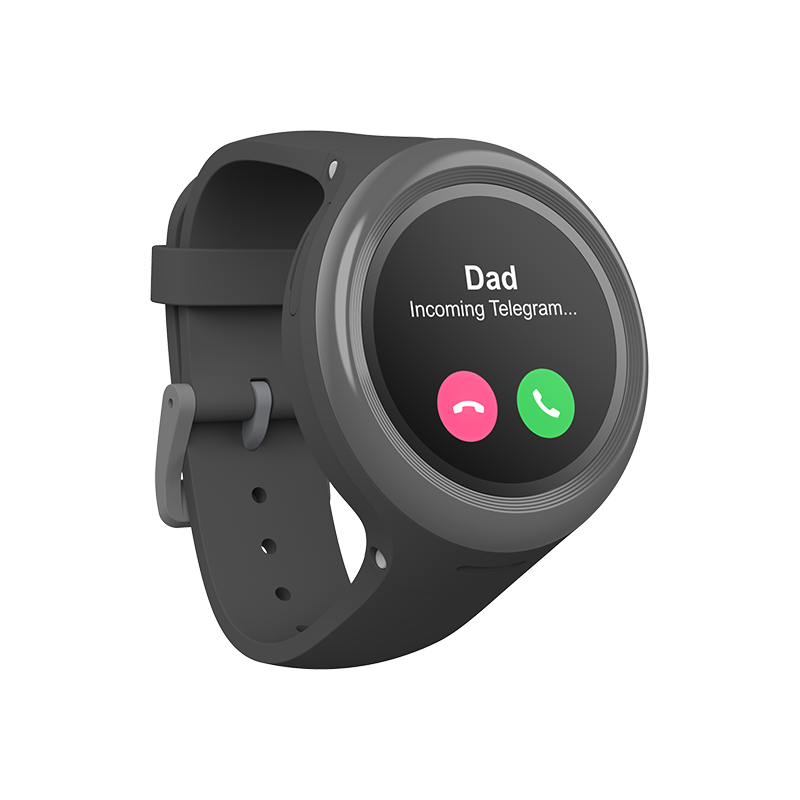myFirst Fone D3s - Wearable Tracker Phone Watch for Kids with 2G Voice Calls and GPS Tracking - Oaxis - The Official Maker of InkCase and the brand owner of myFirst - A brand new collection for kids