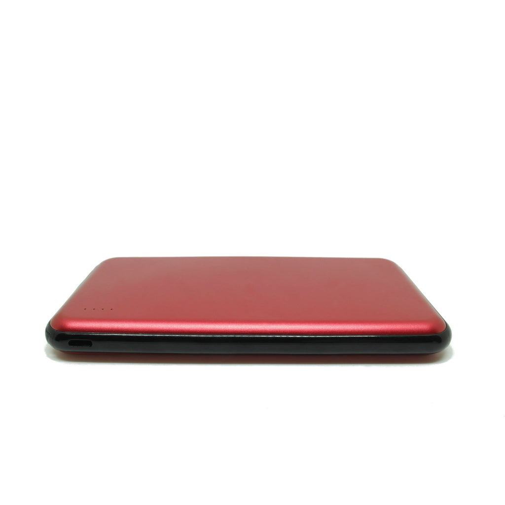 10000mAh Power Bank for Apple Devices red side