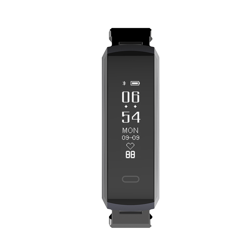 Tenvis HR Lite - Smart Band With BPM Heart Rate Monitor - Oaxis - The Official Maker of InkCase and the brand owner of myFirst - A brand new collection for kids