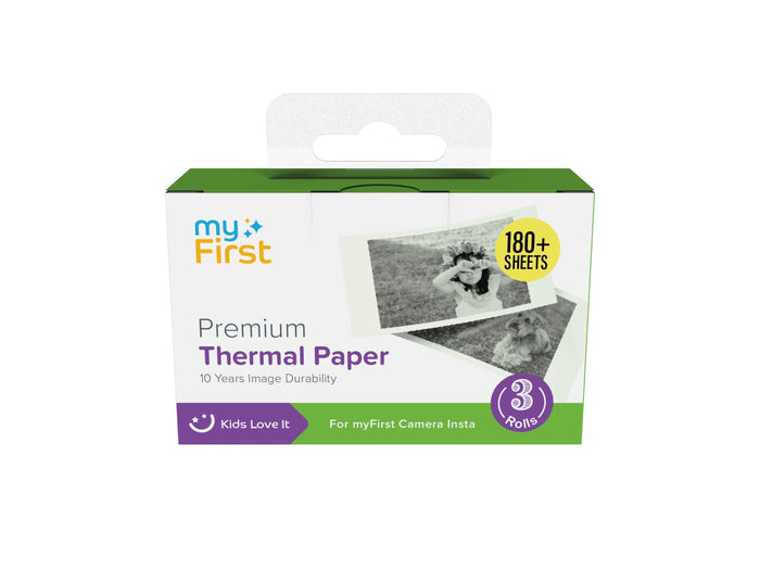 myFirst Camera Insta Thermal Paper - Oaxis - The Official Maker of InkCase and the brand owner of myFirst - A brand new collection for kids