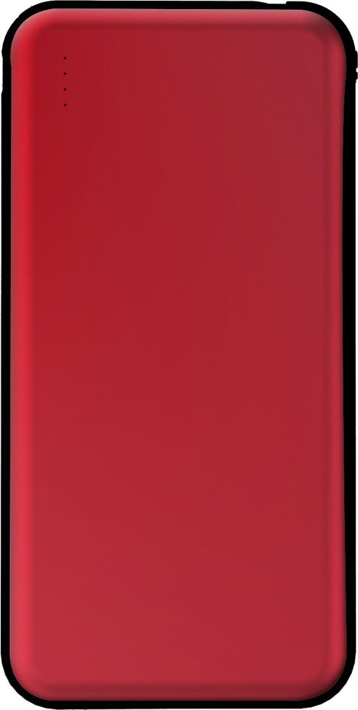 10000mAh Power Bank for Apple Devices red front