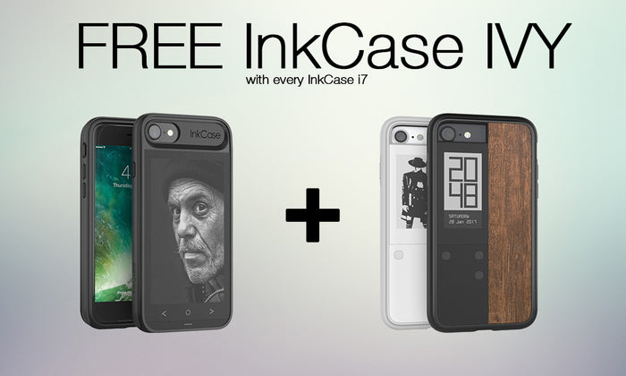Limited time promo! Free InkCase IVY with every InkCase i7. Fits iPhone 8/7/6