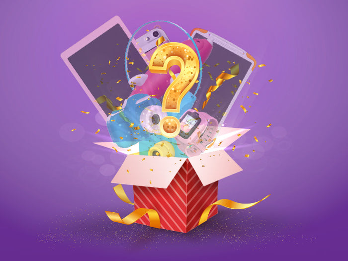 Mystery Box - Oaxis - The Official Maker of InkCase and the brand owner of myFirst - A brand new collection for kids
