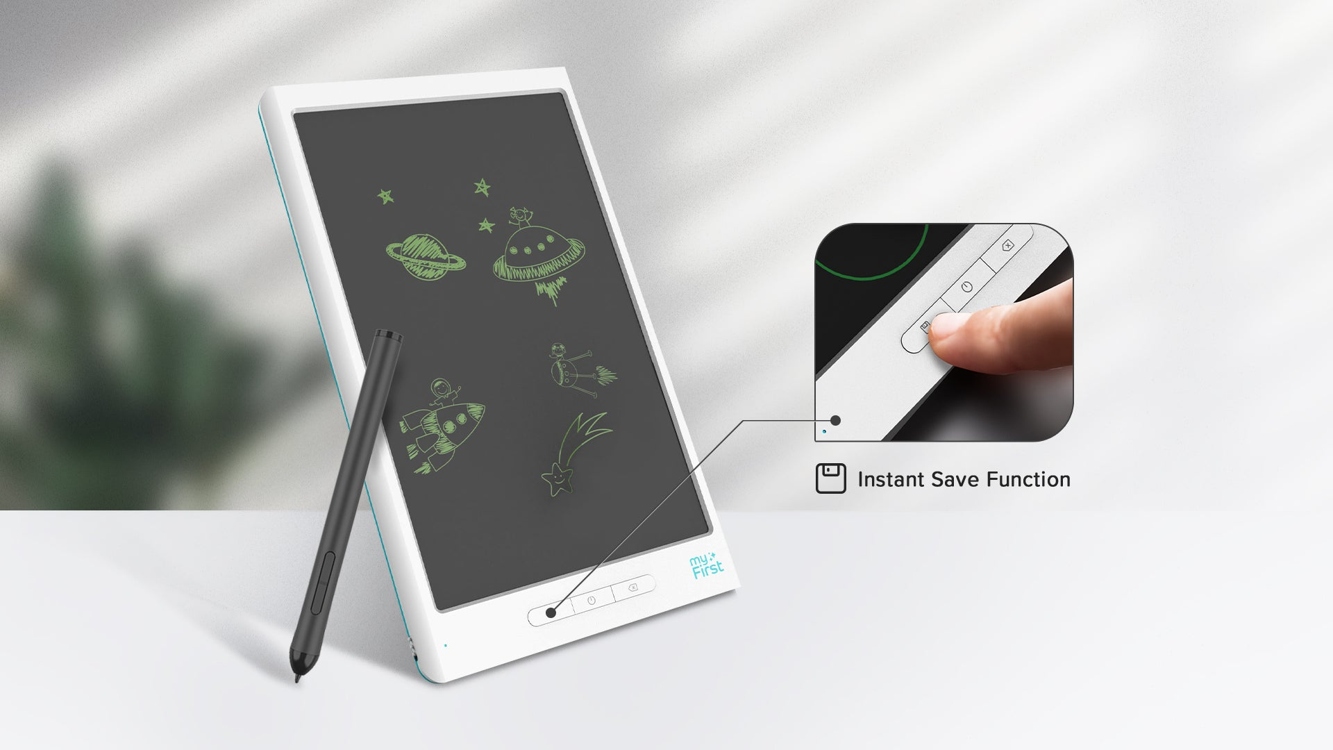 myFirst Sketch Book - Portable Drawing Pad with Instant Digitisation