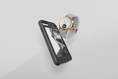 InkCase for iPhone and Timepiece