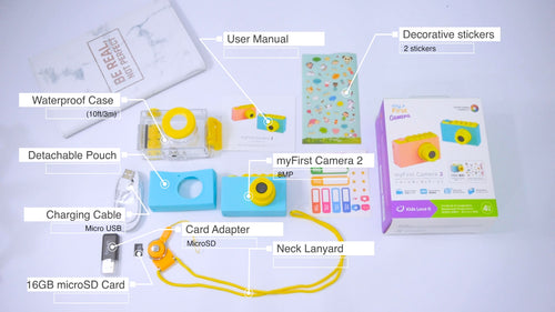 myFirst Camera 2 Unboxing