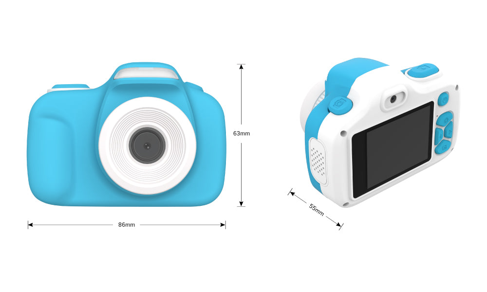 myFirst Camera 3 Size - 16MP Mini Camera for kids with selfie lens