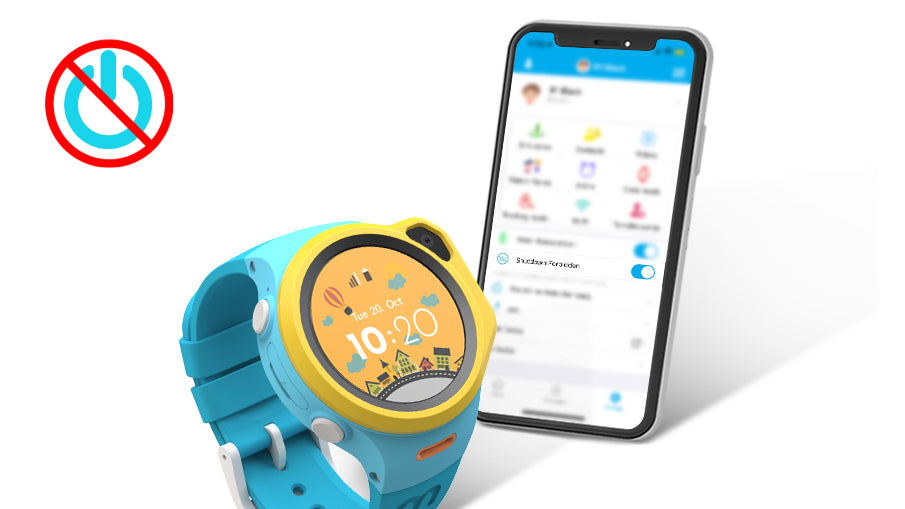 myFirst Fone R1 - Smart watch phone for kids with gps tracker and MP3 Player with IPX7 Waterproof