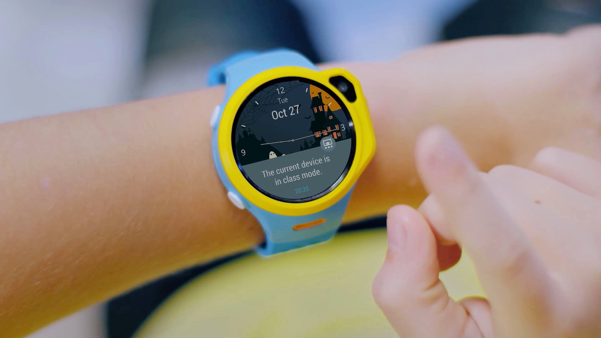 myFirst Fone R1 - Smart watch phone for kids with gps tracker and MP3 Player with Class Mode