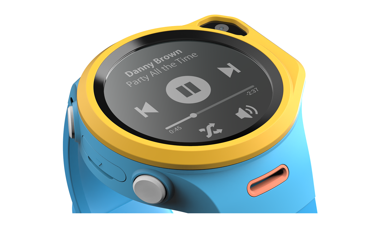myFirst Fone R1 - Smart watch phone for kids with gps tracker and MP3 Player