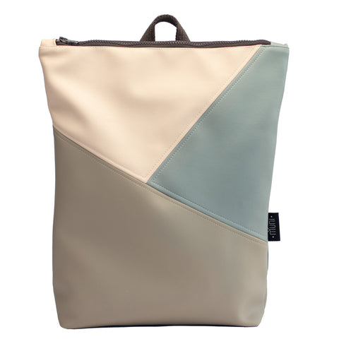 Triple colour backpack, Sand