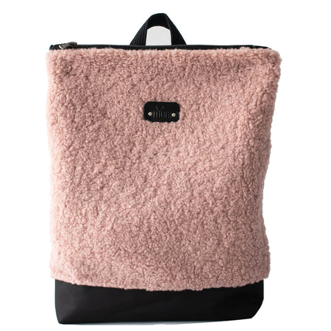"Large faux fur ""Pink"""